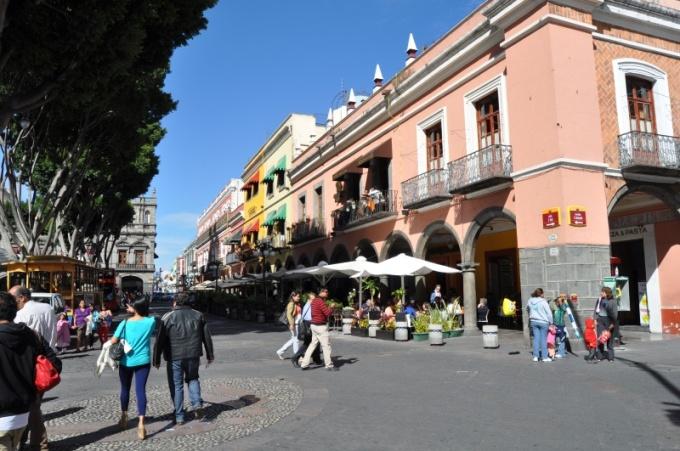 Puebla's zocalo